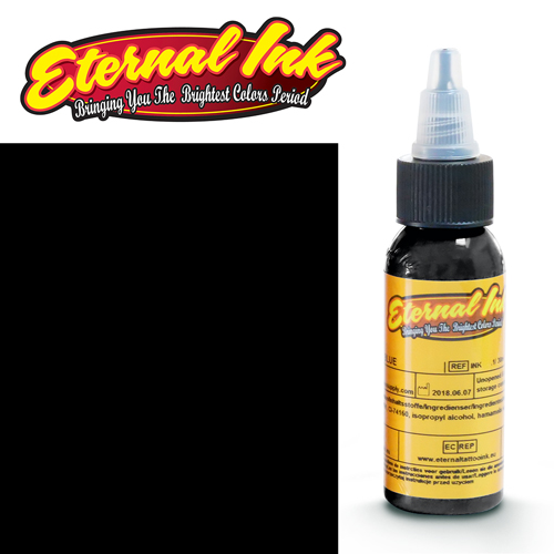 iTC Tattoo et Piercing - Encre ETERNAL, stérile, 1OZ/29ml TRIPLE BLACK