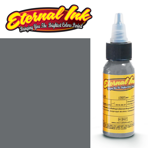 iTC Tattoo et Piercing - Encre ETERNAL, stérile, 1OZ/29ml GRAY