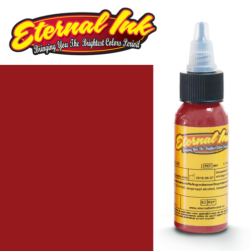 iTC Tattoo et Piercing - Encre ETERNAL, stérile, DARK RED