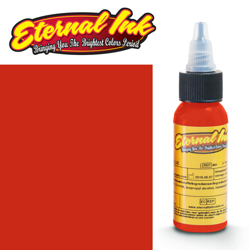 iTC Tattoo et Piercing - Encre ETERNAL, stérile, LIGHT RED