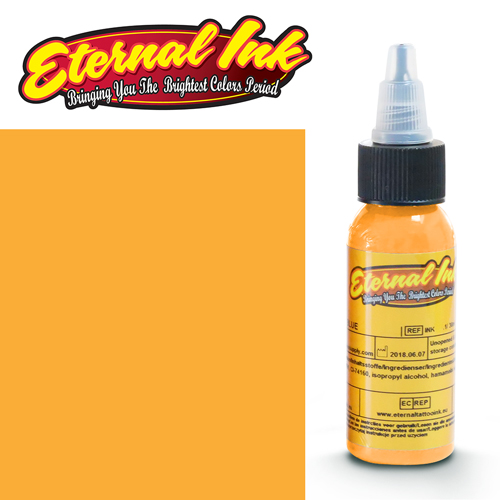 iTC Tattoo et Piercing - Encre ETERNAL, stérile, 1OZ/29ml GOLDEN YELLOW