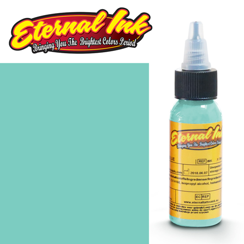 iTC Tattoo et Piercing - Encre ETERNAL, stérile, 1OZ/29ml MINT GREEN