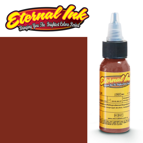 iTC Tattoo et Piercing - Encre ETERNAL, stérile, 1OZ/29ml BROWN