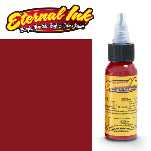 iTC Tattoo et Piercing - Encre ETERNAL, stérile, 1OZ/29ml CRIMSON RED