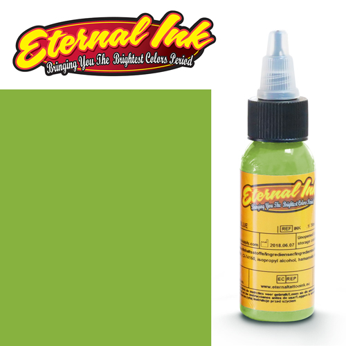 iTC Tattoo et Piercing - Encre ETERNAL, stérile, 1OZ/29ml NUCLEAR GREEN