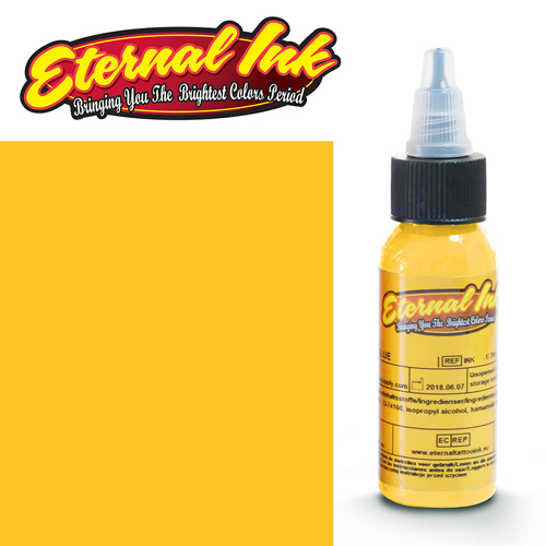 iTC Tattoo et Piercing - Encre ETERNAL, stérile, LIGHTNING YELLOW