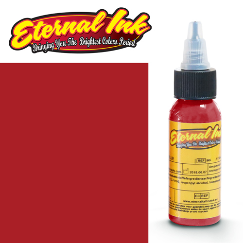 iTC Tattoo et Piercing - Encre ETERNAL, stérile, LIPSTICK RED