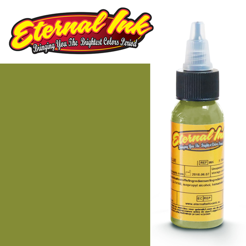 iTC Tattoo et Piercing - Encre ETERNAL, stérile, 1OZ/29ml AVOCADO
