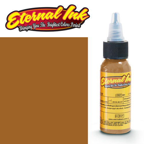 iTC Tattoo et Piercing - Encre ETERNAL, stérile, 1OZ/29ml CARAMEL