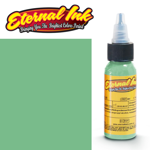 iTC Tattoo et Piercing - Encre ETERNAL, stérile, 1OZ/29ml SEAFOAM