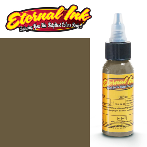 iTC Tattoo et Piercing - Encre ETERNAL, stérile, 1OZ/29ml MUDSLIDE