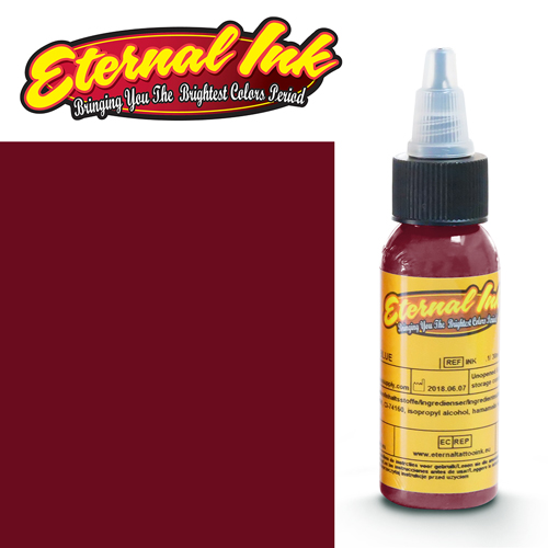 iTC Tattoo et Piercing - Encre ETERNAL, stérile, 1OZ/29ml RUBY RED