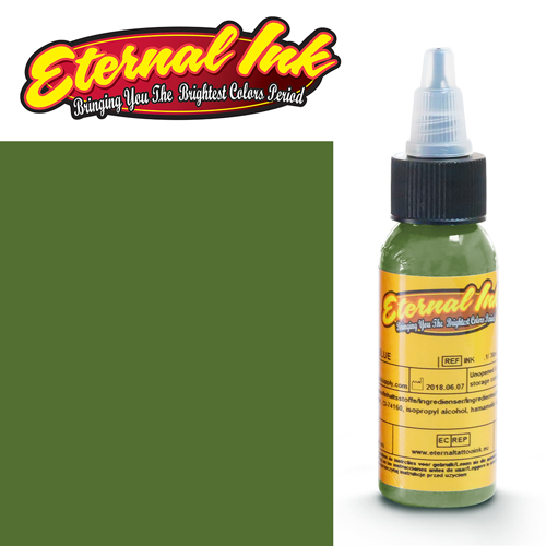 iTC Tattoo et Piercing - Encre ETERNAL, stérile, 1OZ/29ml GREEN SLIME