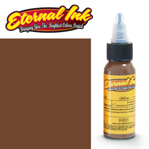 iTC Tattoo et Piercing - Encre ETERNAL, stérile, 1OZ/29ml MOCHA