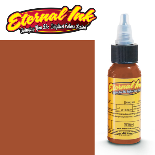 iTC Tattoo et Piercing - Encre ETERNAL, stérile, 1OZ/29ml BURNT ORANGE