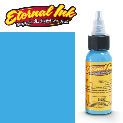 iTC Tattoo et Piercing - Encre ETERNAL, stérile, 1OZ/29ml BABY BLUE