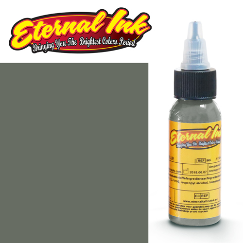 iTC Tattoo et Piercing - Encre ETERNAL, stérile, 1OZ/29ml CLAY GRAY