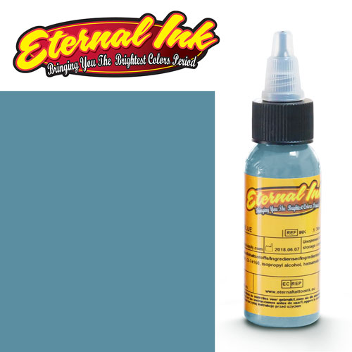 iTC Tattoo et Piercing - Encre ETERNAL, stérile, 1OZ/29ml FROSTBITE BLUE