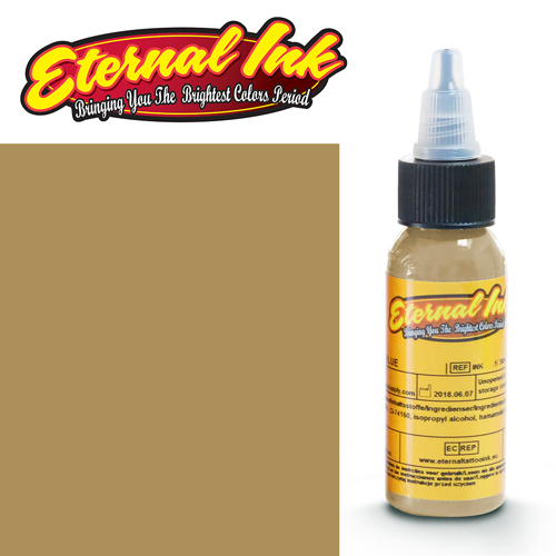 iTC Tattoo et Piercing - Encre ETERNAL, stérile, 1OZ/29ml PLAGUE BROWN