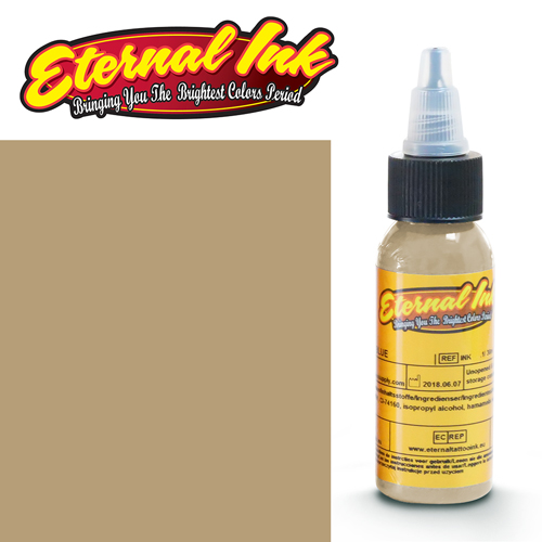 iTC Tattoo et Piercing - Encre ETERNAL, stérile, 1OZ/29ml ALMOND