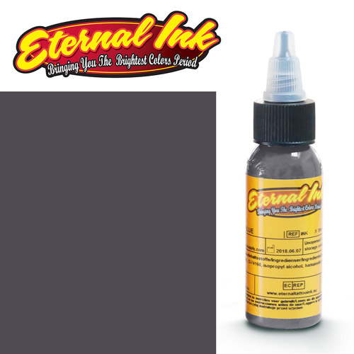 iTC Tattoo et Piercing - Encre ETERNAL, stérile, 1OZ/29ml WARM MEDIUM GRAY