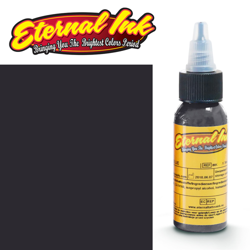 iTC Tattoo et Piercing - Encre ETERNAL, stérile, 1OZ/29ml WARM DARK GRAY