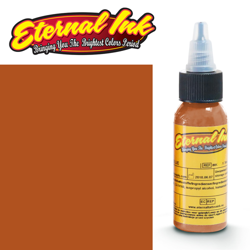 iTC Tattoo et Piercing - Encre ETERNAL, stérile, 1OZ/29ml RICH DARK FLESH