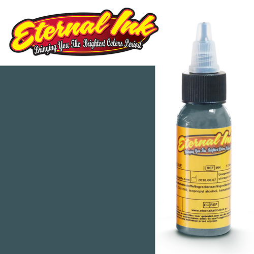 iTC Tattoo et Piercing - Encre ETERNAL, stérile, 1OZ/29ml COOL MEDIUM GRAY
