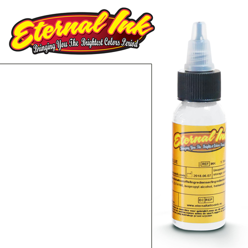 iTC Tattoo et Piercing - Encre ETERNAL, stérile, 1OZ/29ml PERFECT WHITE