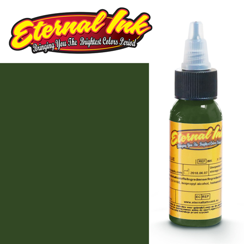 iTC Tattoo et Piercing - Encre ETERNAL, stérile, 1OZ/29ml FOREST