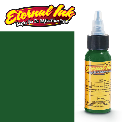 iTC Tattoo et Piercing - Encre ETERNAL, stérile, 1OZ/29ml SHAMROCK