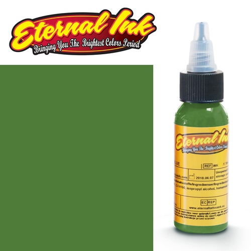 iTC Tattoo et Piercing - Encre ETERNAL, stérile, 1OZ/29ml GRANNY SMITH GREEN