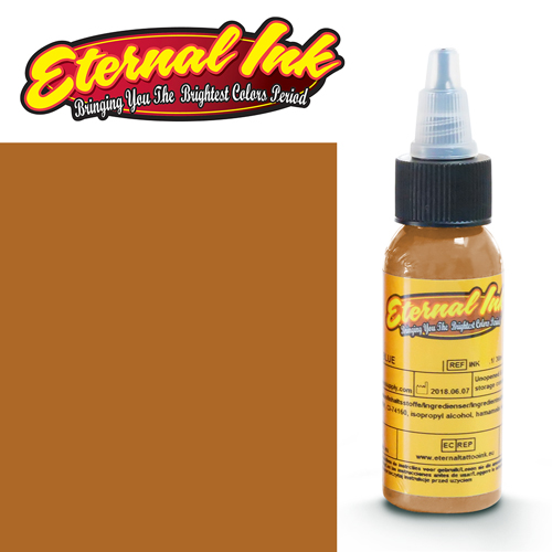 iTC Tattoo et Piercing - Encre ETERNAL, stérile, 1OZ/29ml LONGHORN BROWN