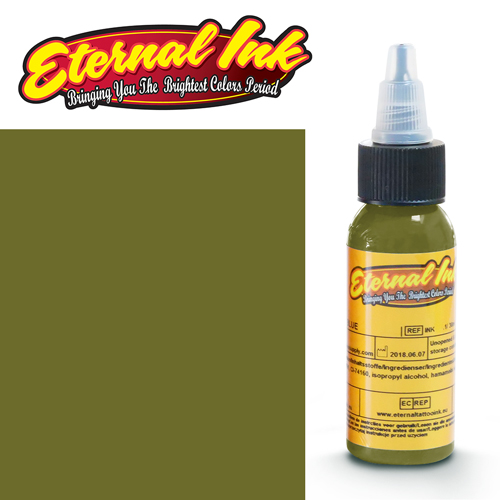 iTC Tattoo et Piercing - Encre ETERNAL, stérile, 1OZ/29ml GRAPE LEAF