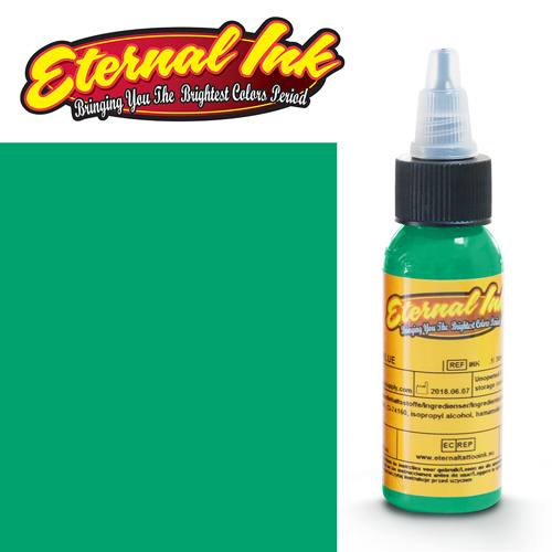 iTC Tattoo et Piercing - Encre ETERNAL, stérile, 1OZ/29ml CORAL GREEN