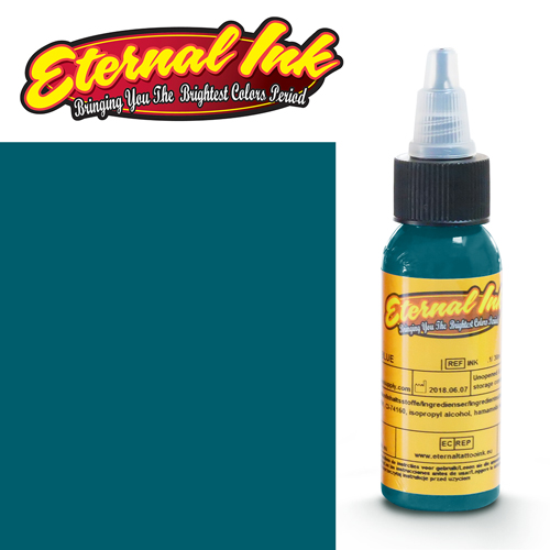 iTC Tattoo et Piercing - Encre ETERNAL, stérile, 1OZ/29ml GTO TEAL