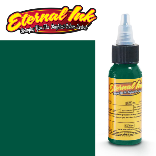 iTC Tattoo et Piercing - Encre ETERNAL, stérile, 1OZ/29ml CLASSIC EMERALD