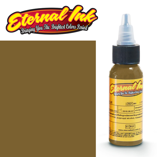 iTC Tattoo et Piercing - Encre ETERNAL, stérile, 1OZ/29ml MUDFLAP BROWN
