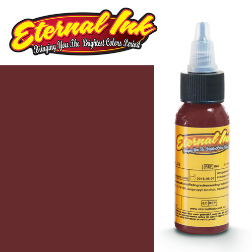 iTC Tattoo et Piercing - Encre ETERNAL, stérile, 1OZ/29ml RUSTY RED