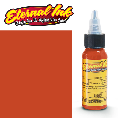 iTC Tattoo et Piercing - Encre ETERNAL, stérile, 1OZ/29ml CALIFORNIA ORANGE