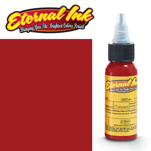 iTC Tattoo et Piercing - Encre ETERNAL, stérile, 1OZ/29ml RED CROSS