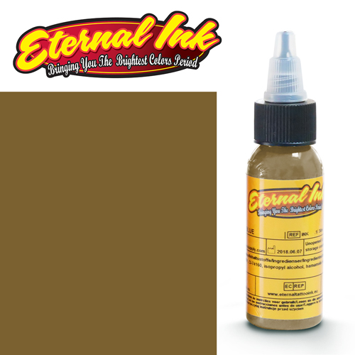 iTC Tattoo et Piercing - Encre ETERNAL, stérile, 1OZ/29ml MISSISSIPPI MUD