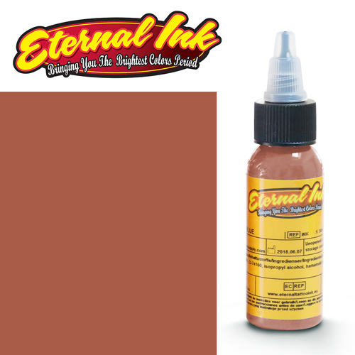iTC Tattoo et Piercing - Encre ETERNAL, stérile, 1OZ/29ml RAWHIDE