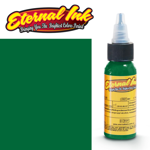 iTC Tattoo et Piercing - Encre ETERNAL, stérile, 1OZ/29ml GREEN RIVER