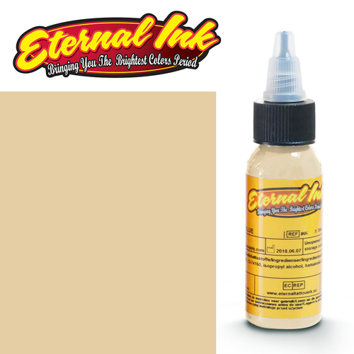 iTC Tattoo et Piercing - Encre ETERNAL, stérile, 1OZ/29ml BRIGHT FAWN
