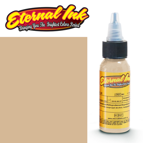 iTC Tattoo et Piercing - Encre ETERNAL, stérile, 1OZ/29ml SANDY BEIGE