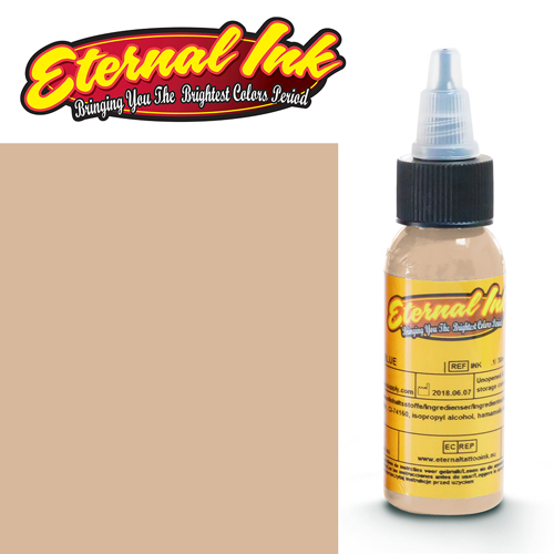 iTC Tattoo et Piercing - Encre ETERNAL, stérile, 1OZ/29ml WARM BEIGE