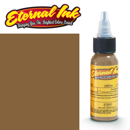 iTC Tattoo et Piercing - Encre ETERNAL, stérile, 1OZ/29ml LIGHT CHESTNUT