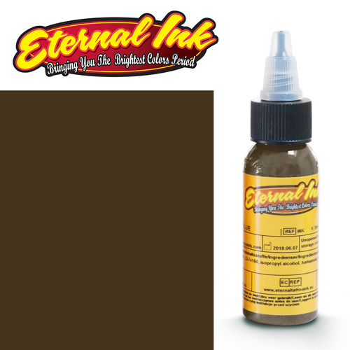 iTC Tattoo et Piercing - Encre ETERNAL, stérile, 1OZ/29ml MEDIUM CHESTNUT