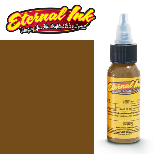iTC Tattoo et Piercing - Encre ETERNAL, stérile, 1OZ/29ml SEPIA DARK